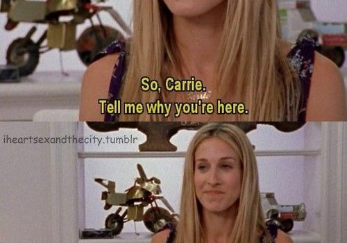 Carrie Therapy